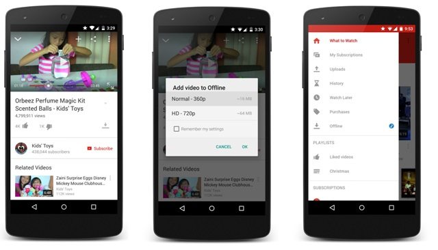 Experimental Download Service And Offline Video By Youtube Genyoutube